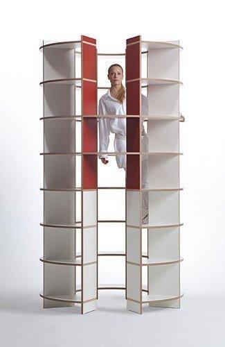 Ronde boekenkast uw kast op maat for Ronde spiegel op maat