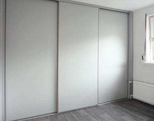 schuifdeuren aluminium voor schuin plafond - Lundia Oldenzaal