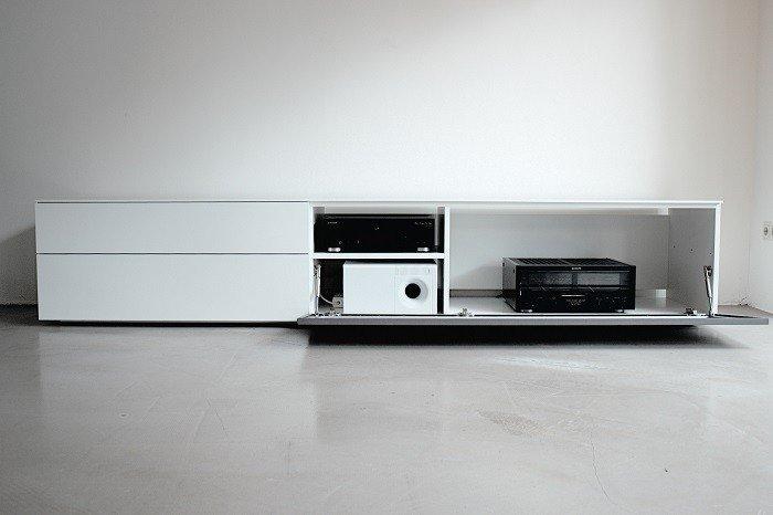 tv kast op maat laten maken mediacenter - Lundia Oldenzaal