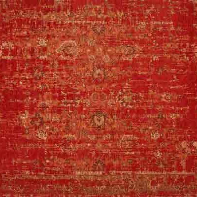 vintage vloerkleed otela rood 45