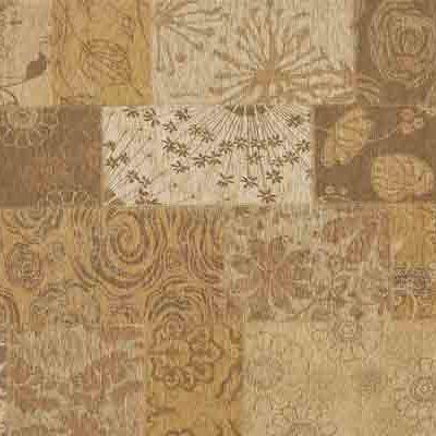 patchwork vloerkleed mirage 13 Goud