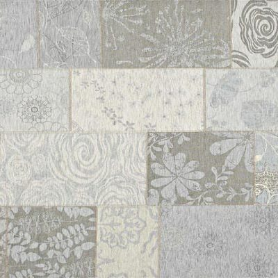 patchwork vloerkleed mirage 21 licht grijs