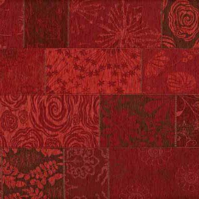 patchwork vloerkleed mirage 46 rood