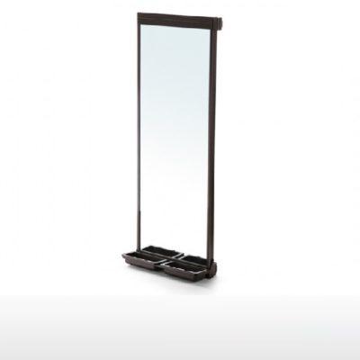 uittrekbare spiegel moka 69386