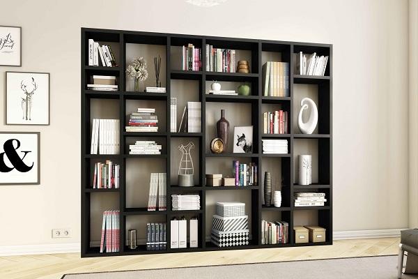 Wandmeubel Zwart Bruin.Cube Het Moderne Modulaire Kastsysteem