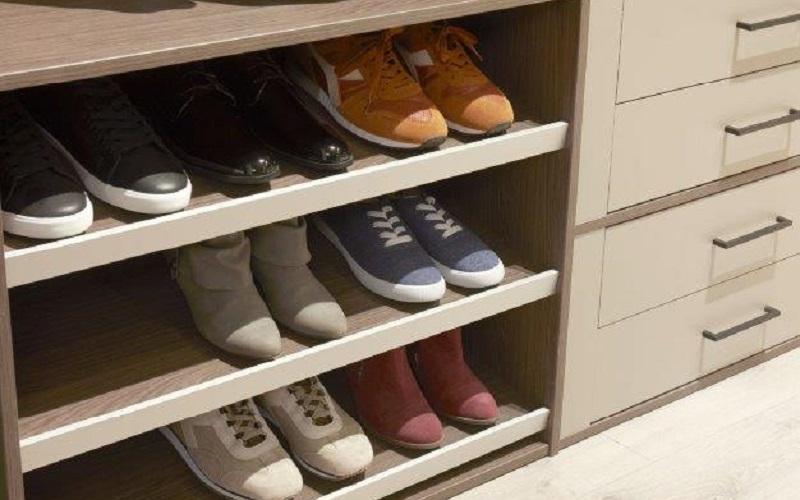 inloopkast raffito met schoenenschap
