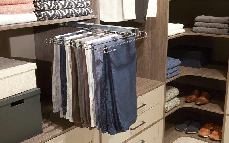 inloopkast raffito met uittrekbare broekenrek