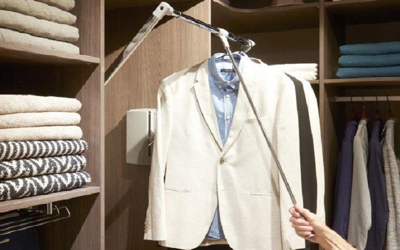 inloopkast raffito met kledinglift