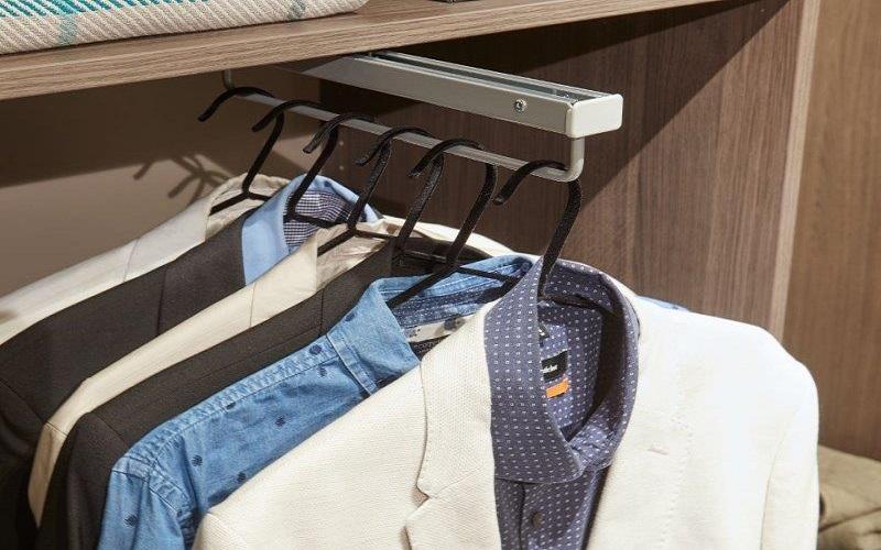 inloopkast raffito met uittrekbare kledingroede