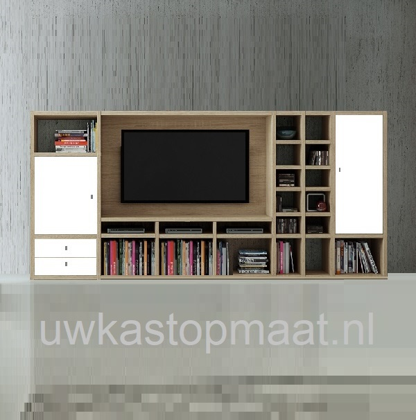 Gebroken Wit Tv Kast.Tv Meubel Toro By Fif Het Moderne Kastsysteem Van Nu