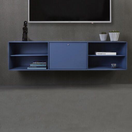 blauwe rechthoekige kast 003 abc reoler quadrant 512781