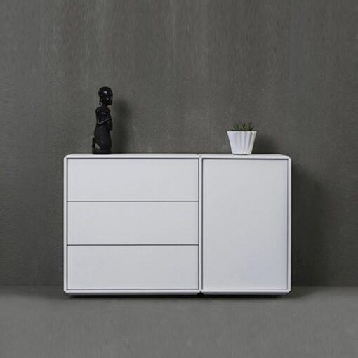ABC Quadrant dressoir wit 512232