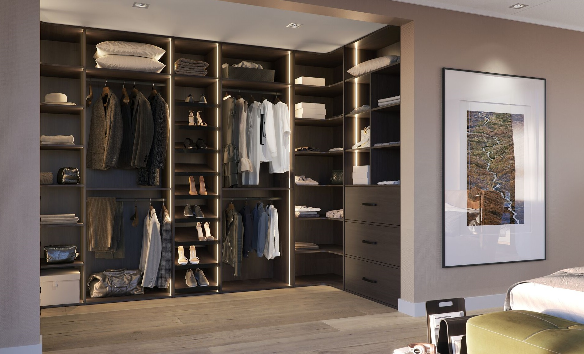 walk in closet raffito