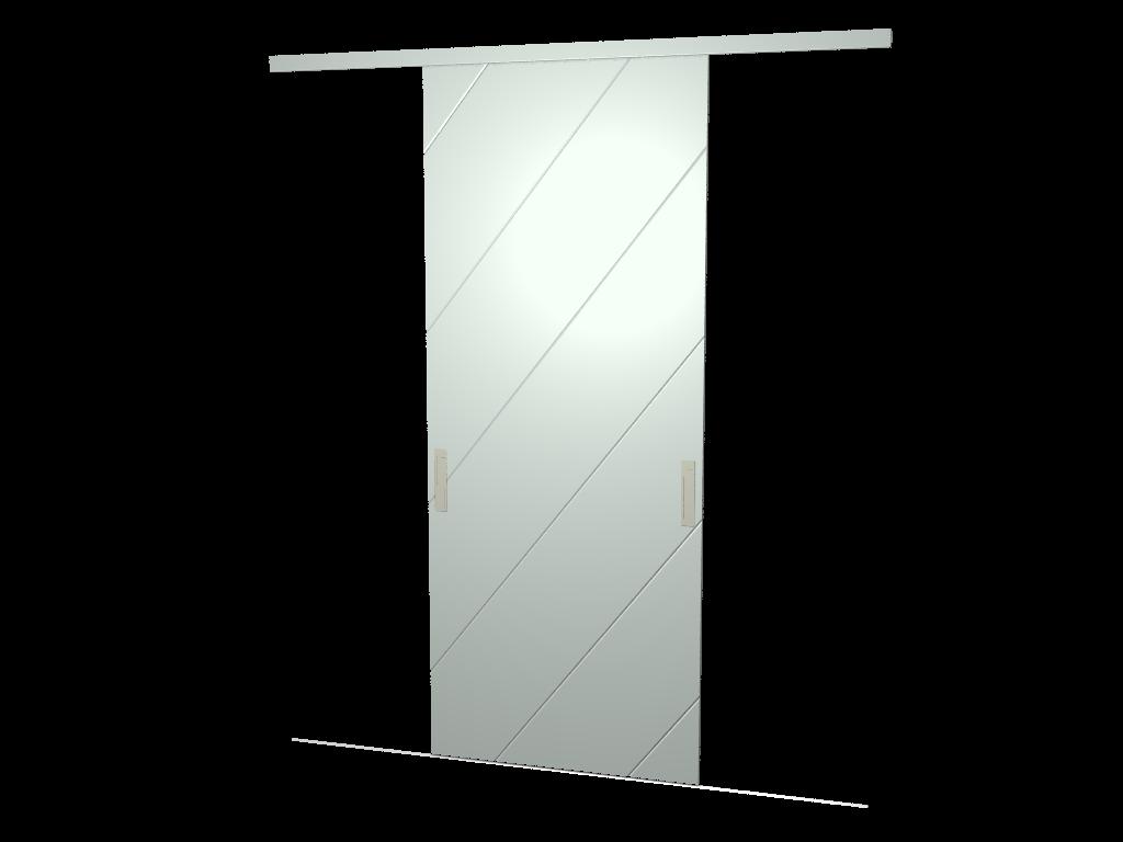 Raffito hoekkast met moderne schuifdeuren