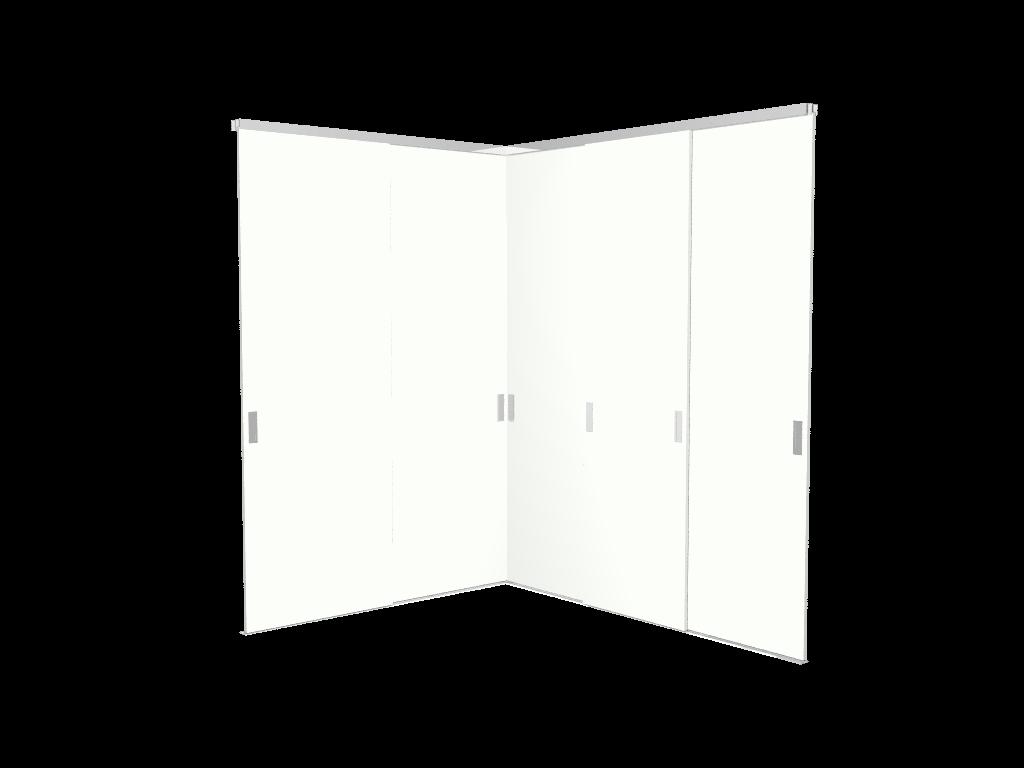 Raffito hoek moderne stijldeuren