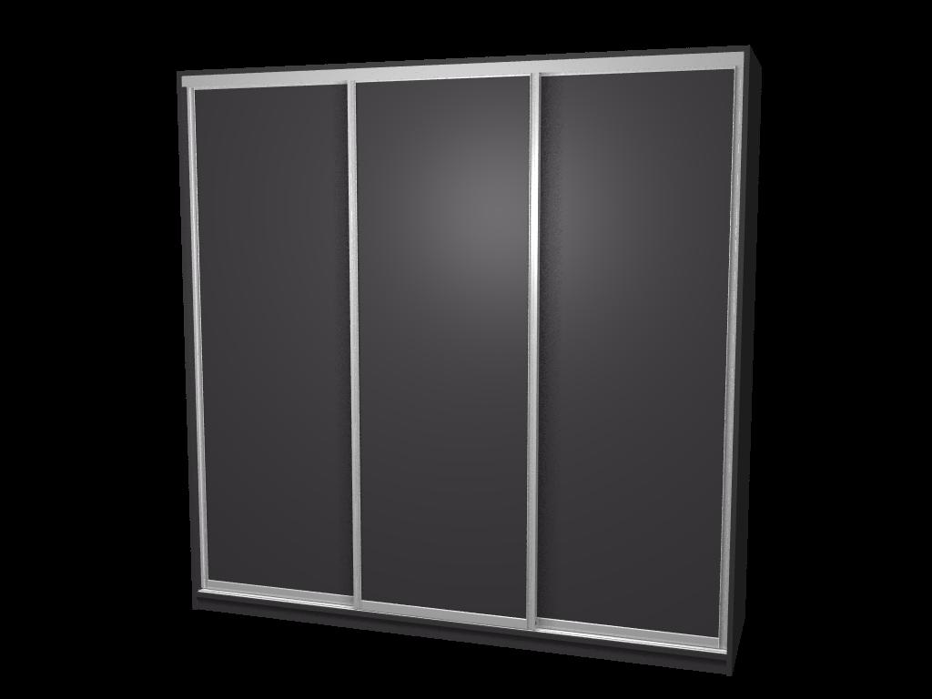 Raffito vrijstaande kledingkast met omlijste schuifdeuren
