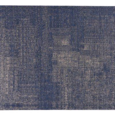 emir blauw vloerkleed