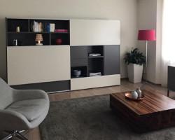 tv meubel met schuifdeur lundia