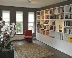 nuvola boekenkast-in-wit-op-maat-gemaakt by Lundia