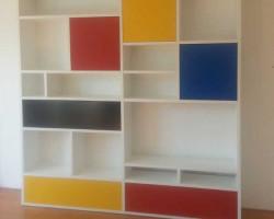 piet-mondriaan-boekenkast
