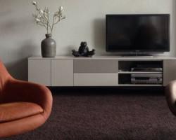 hangend tv meubel hoogglans