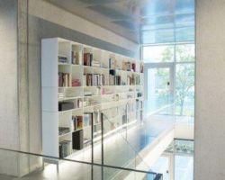 ABC Reoler Quadrant boekenkast op pootjes