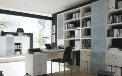 thuiswerken kantoor fof wit