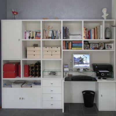 thuiswerken modern wit